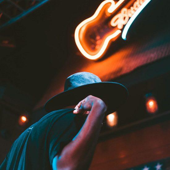 Neon Guitar